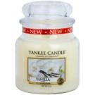 Yankee Candle Vanilla vela perfumado 411 g Classic médio