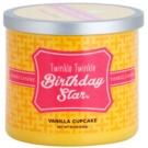 Yankee Candle Vanilla Cupcake illatos gyertya  238 g  (Twinkle Twinkle Birthday Star)