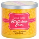 Yankee Candle Vanilla Cupcake Duftkerze  238 g  (Twinkle Twinkle Birthday Star)