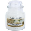 Yankee Candle Wedding Day illatos gyertya  104 g Classic kis méret