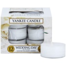 Yankee Candle Wedding Day świeczka typu tealight 12 x 9,8 g