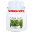 Yankee Candle White Tea Duftkerze  411 g Classic medium