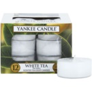 Yankee Candle White Tea vela do chá 12 x 9,8 g