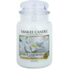 Yankee Candle White Gardenia vonná svíčka 623 g Classic velká