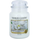 Yankee Candle White Gardenia dišeča sveča  623 g Classic velika