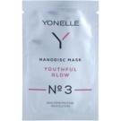 Yonelle Nanodisc Mask Youthful Glow N° 3 интензивна гел-маска за освежаване на кожата на лицето 40+  6 мл.
