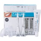 Yotuel 7 Hours tratamiento blanqueador para dientes (Gum Applicators 2 pcs, Whitening Gel 2 x 6 ml, Whitening Toothpaste 1 x 25 ml)
