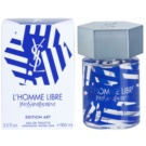 Yves Saint Laurent L'Homme Libre Art Edition eau de toilette férfiaknak 100 ml