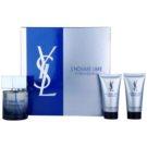 Yves Saint Laurent L´Homme Libre zestaw upominkowy I.  woda toaletowa 100 ml + żel pod prysznic 2 x 50 ml