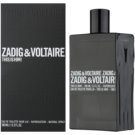 Zadig & Voltaire This Is Him! Eau de Toilette pentru barbati 100 ml