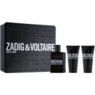 Zadig & Voltaire This Is Him! Geschenkset I.  Eau de Toilette 50 ml + Duschgel 2 x 50 ml