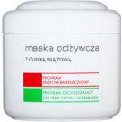 Ziaja Pro Multi-Care máscara nutritiva com argila castanha para uso profissional  200 ml