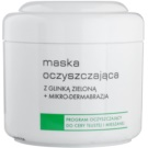 Ziaja Pro Cleansers Oily and Combination Skin Cleansing Mask with Green Clay and Microcrystals for Professional Use  250 ml