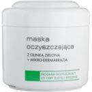 Ziaja Pro Cleansers Oily and Combination Skin mascarilla purificante con arcilla verde y microcristales  250 ml