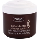 Ziaja Cocoa Butter Exfoliating Shower Gel (Flavoury & Nourishing) 200 ml