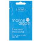 Ziaja Marine Algae máscara hidratante para pele normal e seca 7 ml