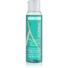 A-Derma Phys-AC Purifying Foam Gel for Problematic Skin, Acne  100 ml