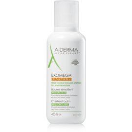 A-Derma Exomega vlažilni balzam za telo za zelo občutljivo suho in atopično kožo  400 ml