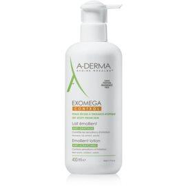A-Derma Exomega vlažilni losjon za telo za zelo občutljivo suho in atopično kožo  400 ml
