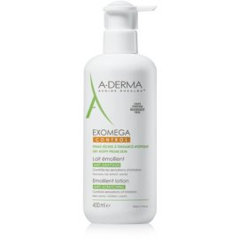 A-Derma Exomega Silkening Body Milk For Very Dry Sensitive And Atopic Skin  400 ml