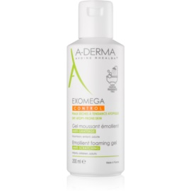 A-Derma Exomega овлажняващ гел-пяна за суха атопична кожа  200 мл.