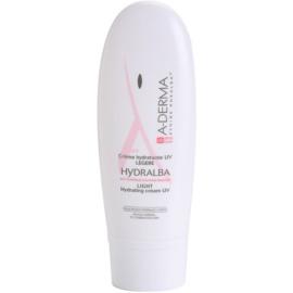 A-Derma Hydralba Hydrating Cream For Normal To Combination Skin SPF 20 UVA 9  40 ml