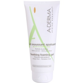 A-Derma Original Care гел пяна за чувствителна кожа   200 мл.
