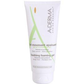 A-Derma Original Care gel espumoso para pele sensível  200 ml