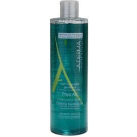A-Derma Phys-AC gel espumoso de limpeza para pele problemática, acne  400 ml
