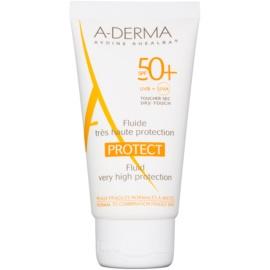 A-Derma Protect siero protettivo per pelli normali e miste SPF 50+  40 ml