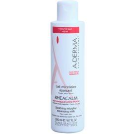 A-Derma Rheacalm pomirjajoče micelarno čistilno mleko  200 ml