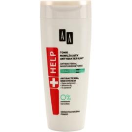 AA Cosmetics Help Acne Skin tonic antibacterian cu efect de hidratare  200 ml