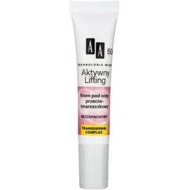 AA Cosmetics Age Technology Active Lifting szemránckrém 50+  15 ml
