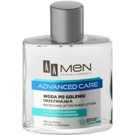 AA Cosmetics Men Advanced Care frissítő borotválkozás utáni víz  100 ml