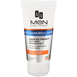 AA Cosmetics Men Advanced Care crème énergisante visage  75 ml