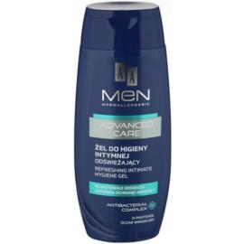 AA Cosmetics Men Advanced Care Gel revigorant pentru curatarea intima  250 ml