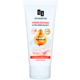 AA Cosmetics Oil Essence Argan&Marula intenzivní hydratační krém na ruce  75 ml