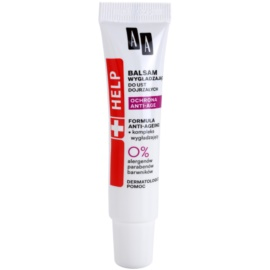 AA Cosmetics Help Anti-Age Protection vyhlazující balzám na rty  10 ml
