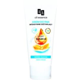AA Cosmetics Oil Essence Argan&Tsubaki Ultra - crema nutritiva de maini  75 ml