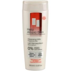 AA Cosmetics Help Atopic Skin čistiace mlieko bez parfumácie  250 ml