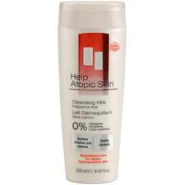 AA Cosmetics Help Atopic Skin čisticí mléko bez parfemace  250 ml