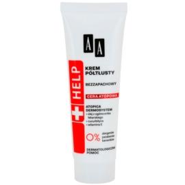 AA Cosmetics Help Atopic Skin gazdagon tápláló krém parfümmentes  50 ml