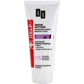 AA Cosmetics Help Stubborn Cellulite zeštíhlující sérum na břicho a pas  200 ml