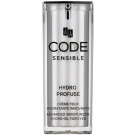AA Cosmetics CODE Sensible Hydro Profuse crème hydratante contour des yeux  15 ml