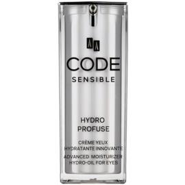 AA Cosmetics CODE Sensible Hydro Profuse hydratační krém na oční okolí  15 ml