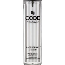 AA Cosmetics CODE Sensible Laser Wrinkle Eraser vyhlazující sérum proti silným vráskám  30 ml