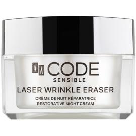 AA Cosmetics CODE Sensible Laser Wrinkle Eraser regenerační noční krém  50 ml