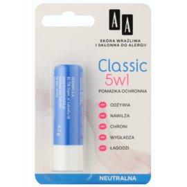 AA Cosmetics Lip Care  Classic schützendes Lippenbalsam 5 in 1  4,2 g