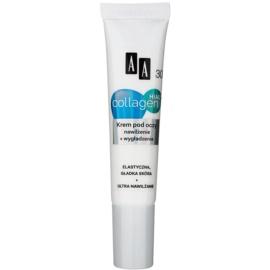 AA Cosmetics Collagen HIAL+ Hydraterende en Egaliserende Oogcrème 30+  15 ml
