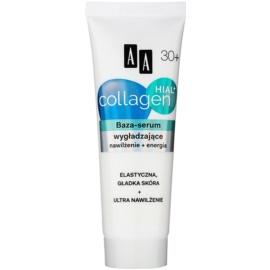 AA Cosmetics Collagen HIAL+ glättende Basis für das Gesicht 30+  50 ml